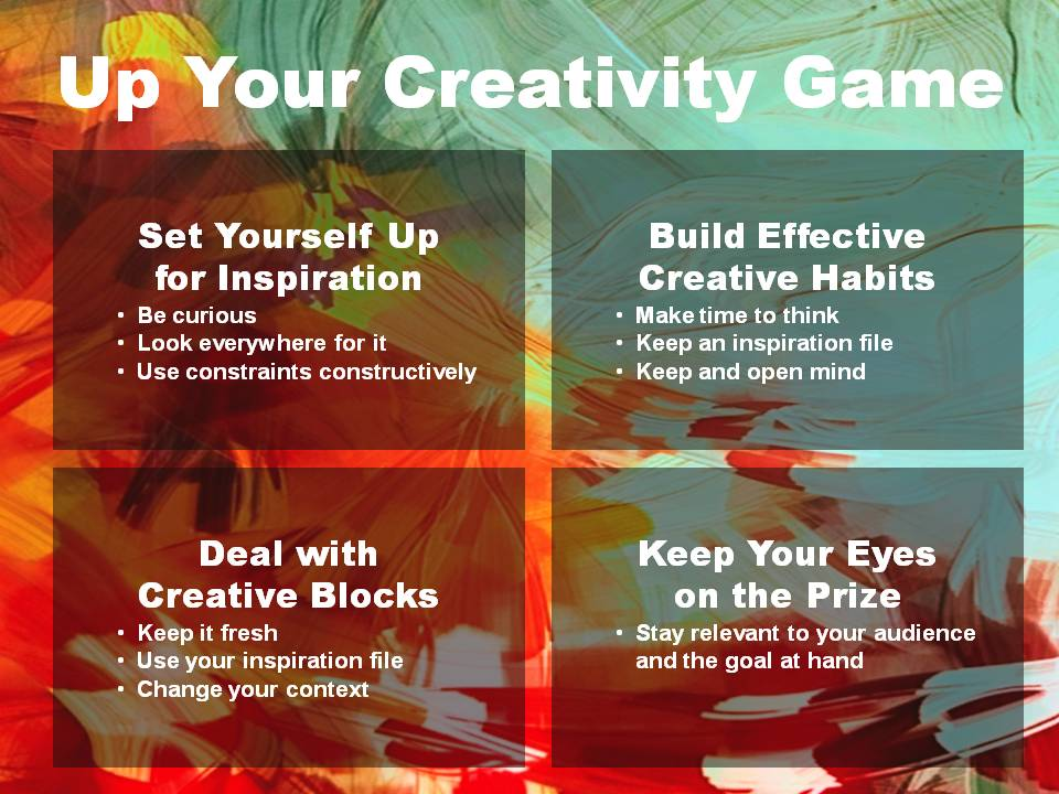 Up Your Creativity Game