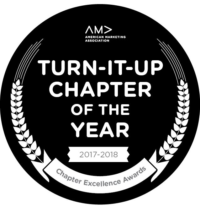 Turn it up Chapter of the year seal